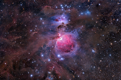 M42 The Sword of Orion Nov2011 Vanderpool, TX Canon 5Dmarkii Modded Tak FSQ 106 F5 20X10min 30X60sec