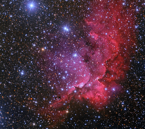 NGC 7380 The Wizard Nebula