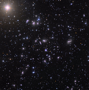Abell Galaxy Cluster 2151 in Hercules